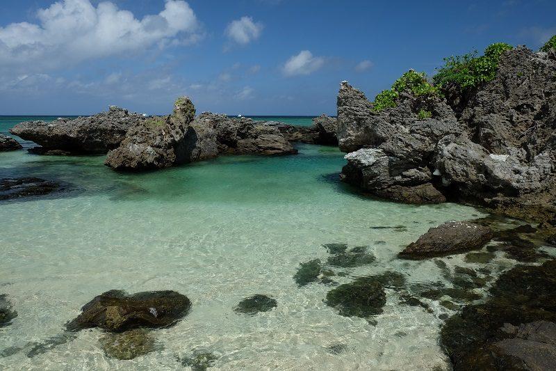 カヤマ島恋人の浜