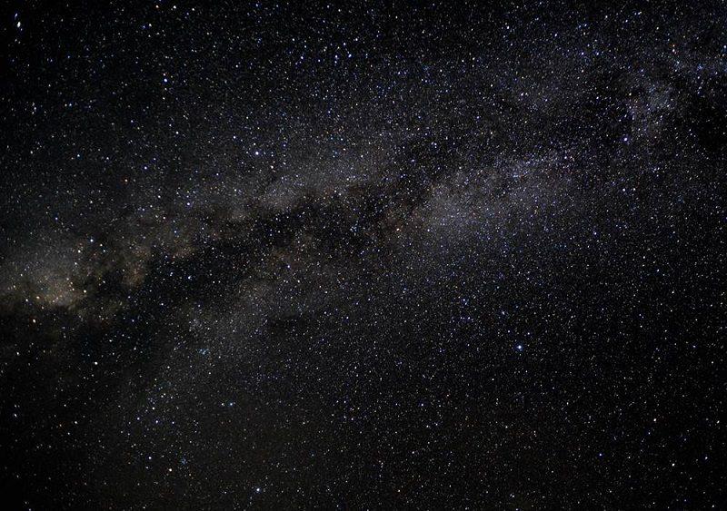 無人島カヤマ島の星空