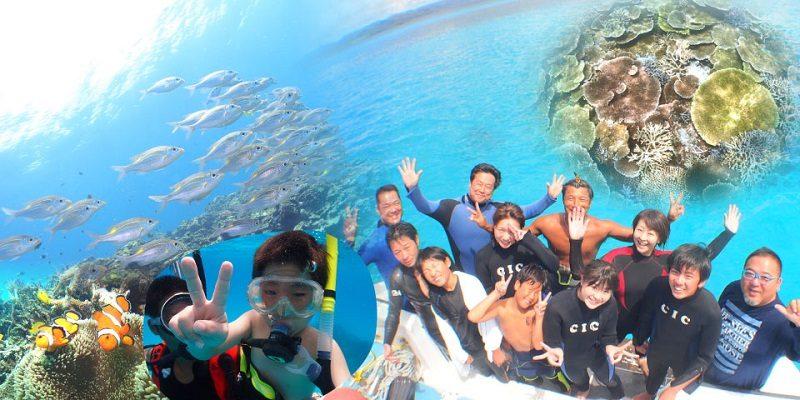 石垣島1日体験ダイビング