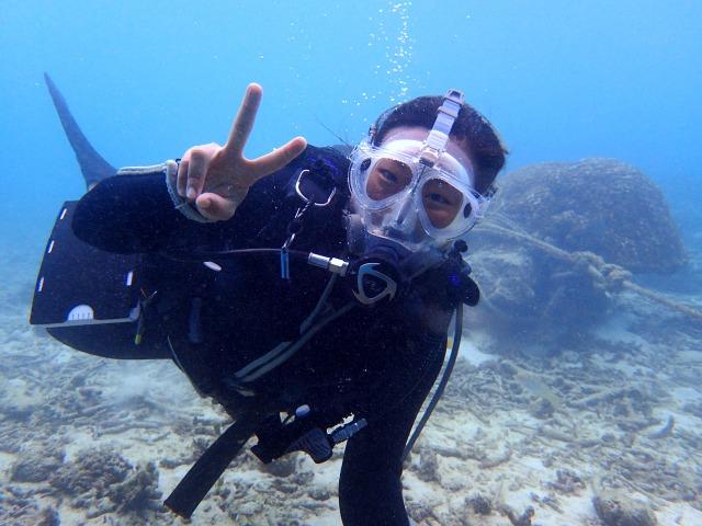 石垣島半日体験ダイビング