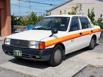 石垣島タクシー観光普通車