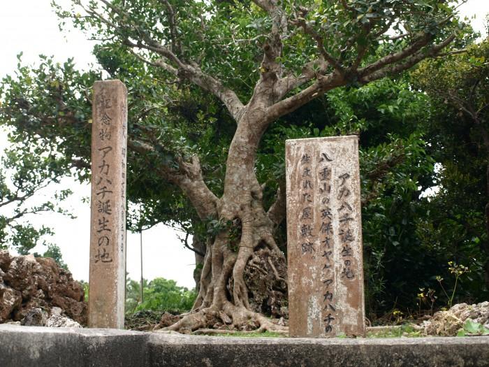 波照間島アカハチの碑