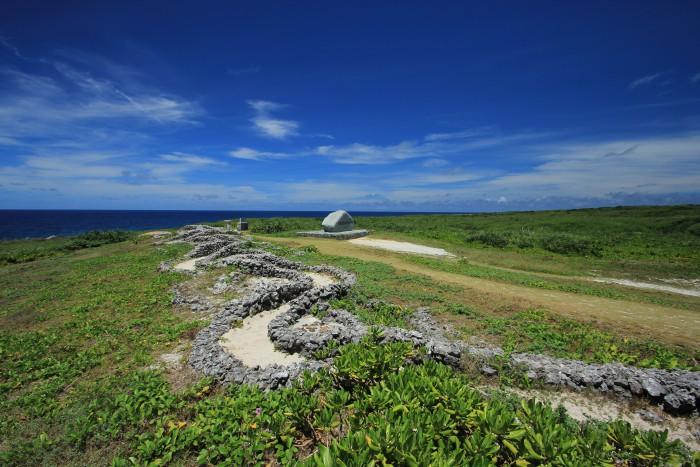波照間島最南端